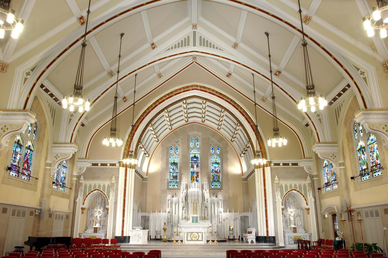 St Ambrose Catholic Church Daprato Rigali Studios