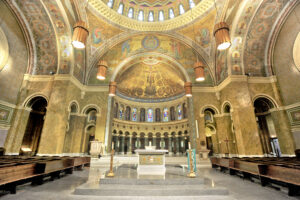 St. Clement's Catholic Church in Chicago, Illinois restored by Daprato Rigali Studios