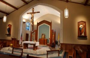 marble painting tile stencil art craftsmanship church