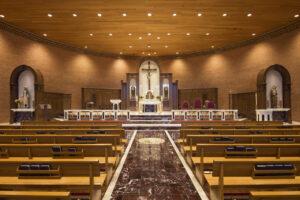 sanctuary renovation catholic church