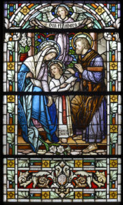 Holy Family Stained Glass