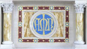 St. Raphael Antioch Altar marble
