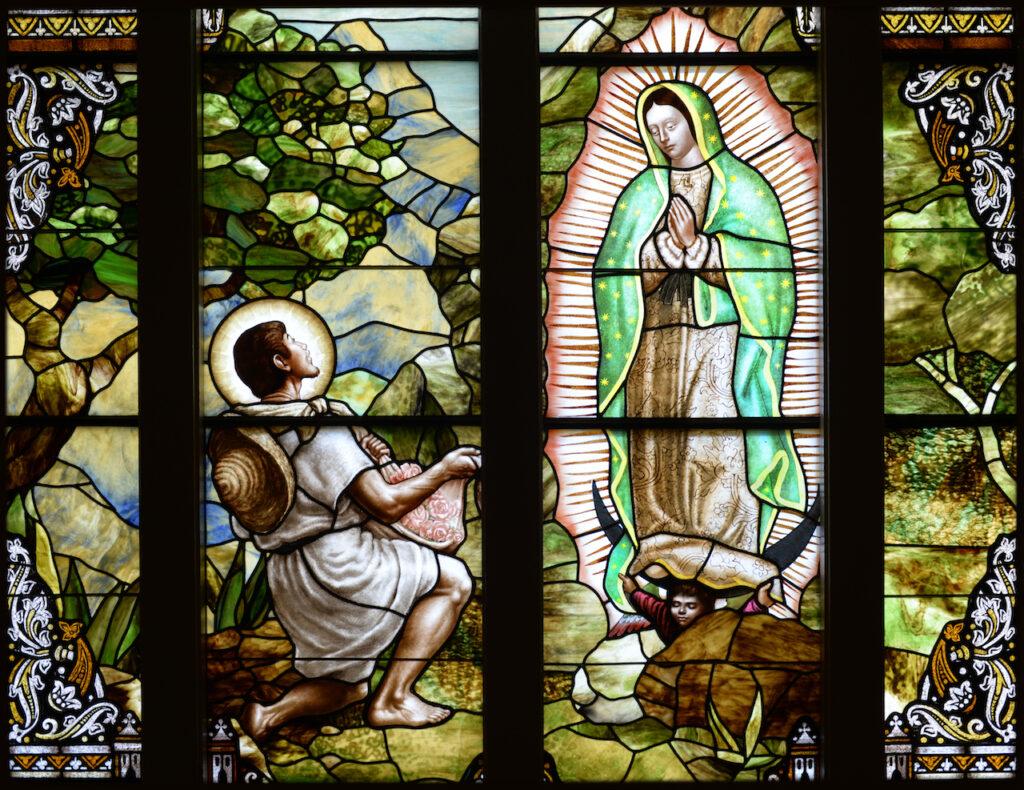 9c366e638e02 ... Daprato Rigali Studios in Chicago. Our Lady of Guadalupe   St.PeterVolo