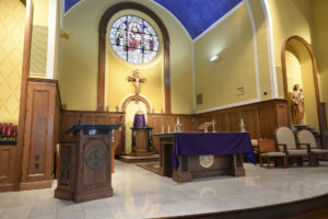 Interior St Patricks McHenry