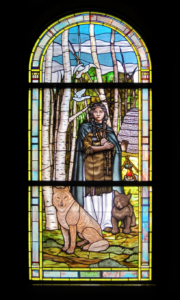 St. Kateri Tekakwitha Stained Glass Daprato Rigali Studios