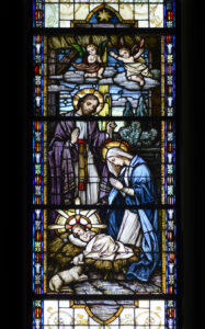 st raphaels stained glass nativity