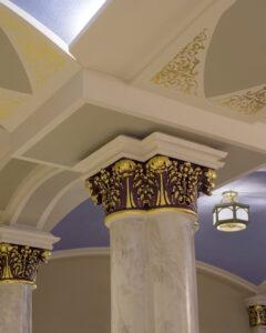 IC Elmhurst column painting
