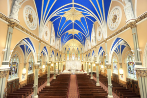 St. Alphonsus church painting renovation