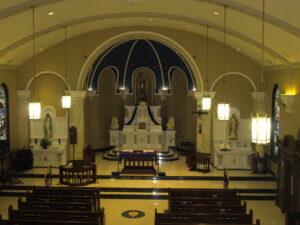 St. Michael's sanctuary renovation