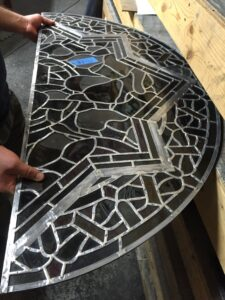 new stained glass window restoration