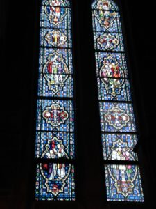 stained glass windows work restore conserve