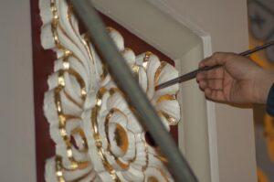 Artist decoration design sanctuary