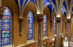 stained glass restoration windows colors Peoria