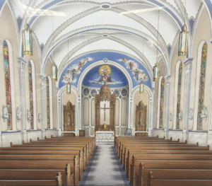 church design interior