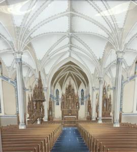 church renovation drawing design