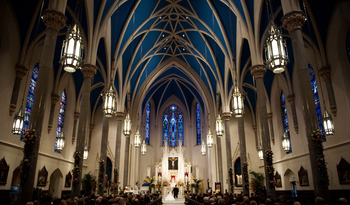Peoria Cathedral Before renovation