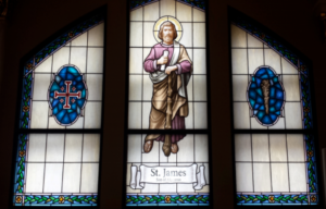 IC Elmhurst St. James window