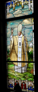 pope John Paul window
