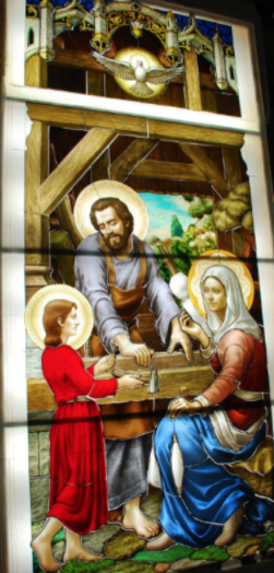Holy Family huntley window