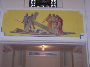 chicago church renovation art rigali
