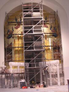 daprato painting renovation church sanctuary