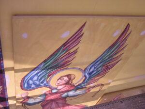 loyola chapel daprato artistry paint