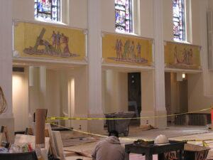 loyola school college chapel restoration