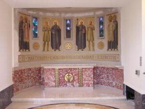 loyola chapel marble restoration